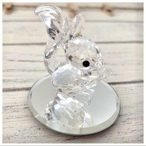 Swarovski Crystal Figurine Squirrel